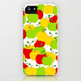Bunches Of Apples iPhone Case
