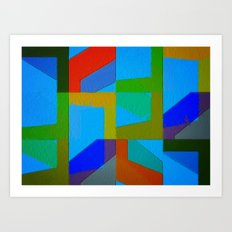 Colorful Truth. Sky Art Print