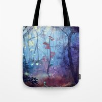 disco Tote Bags featuring Disco by Azot