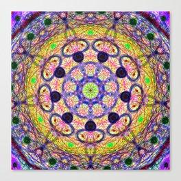 Mandala Energy Canvas Print
