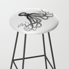 Octopus | Black and White Bar Stool