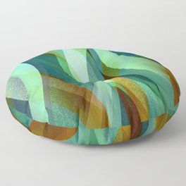 Abstract background G135 Floor Pillow