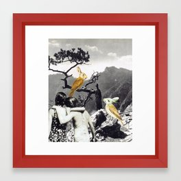 the adventures of non & sens Framed Art Print