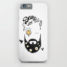 Make Beards not War (typo edition) iPhone 6s Slim Case
