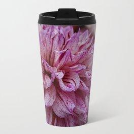 Dahlia Petals Travel Mug