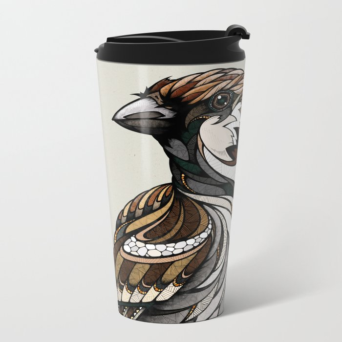 Berlin Sparrow Metal Travel Mug