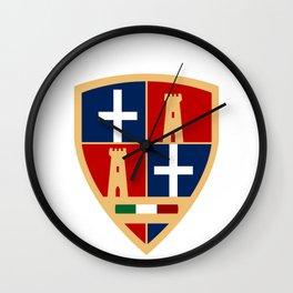 Sassari - crest Wall Clock
