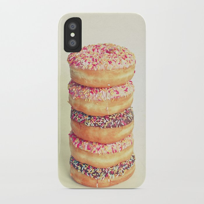 Stack of Donuts iPhone Case