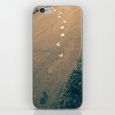 footprints iPhone & iPod Skin
