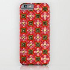Christmas Garden Pattern Slim Case iPhone 6s