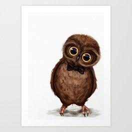 Owl III Art Print