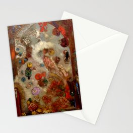 "Odilon Redon ""The Window"" Stationery Cards"