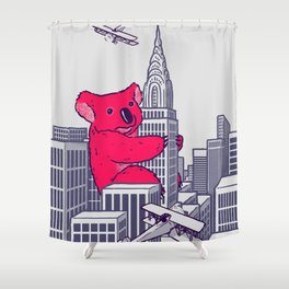 Koala Kong Shower Curtain