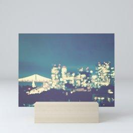 San Francisco Twinkle Mini Art Print