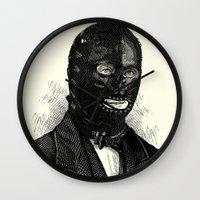 bdsm Wall Clocks featuring BDSM XXXIV by DIVIDUS