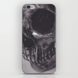 Waterlogged Skull iPhone Skin