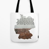 germany Tote Bags featuring Germany by Isabel Moreno-Garcia