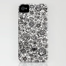 Flowers iPhone (4, 4s) Slim Case