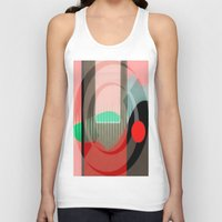 courage Tank Tops featuring Courage by Kristine Rae Hanning