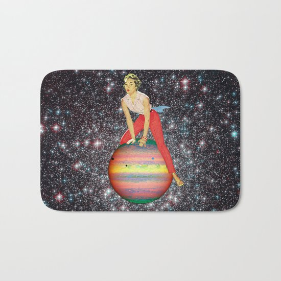 Star Hopper 3 Bath Mat