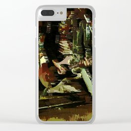 johnny Clear iPhone Case