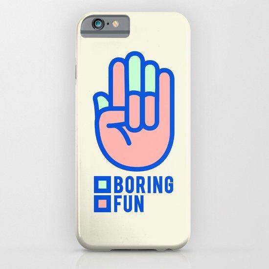 BORING N0.1 iPhone & iPod Case