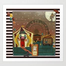 Whimsical Circus Art Print