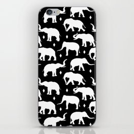 White Elephants iPhone Skin
