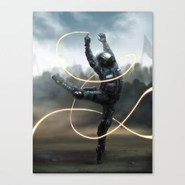 De-escalation Dance Canvas Print