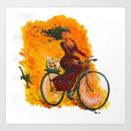 The Goldfish Bowl Art Print