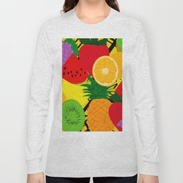Fruits Pattern Long Sleeve T-shirt