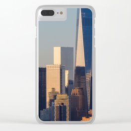 NEW YORK CITY 18 Clear iPhone Case