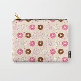 Cute Little Donuts on Cream Carry-All Pouch