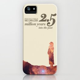 LOOK INTO THE PAST - Andromeda | Space | Time | Stars | Science | Planets | Million | Years | Travel iPhone Case