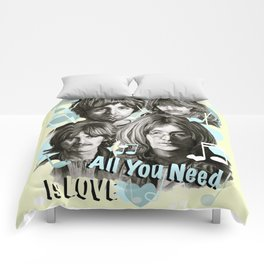 All You Need Is Love Comforters