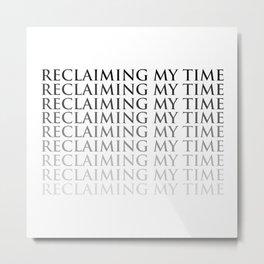 Reclaiming Metal Print