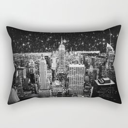 Starry Night in New York Rectangular Pillow