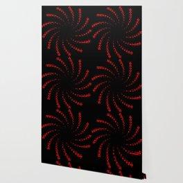 hexagonal spiral Wallpaper