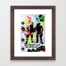 EOD Masters Framed Art Print