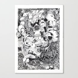 Enormous Joy Canvas Print