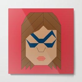 Ms.Marvel - Kamala Khan Metal Print