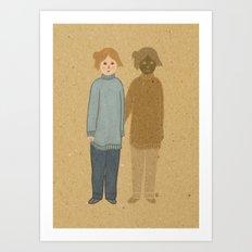 Worries Art Print