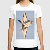 aviation T-shirts featuring Aviation F-22 Raptor Air Show USAF by Aviator