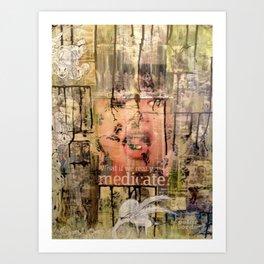 Subliminal Illness Art Print