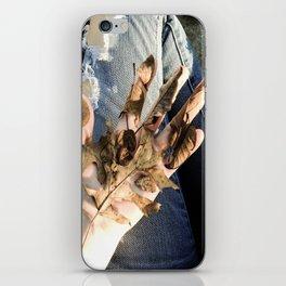 dead denim iPhone Skin