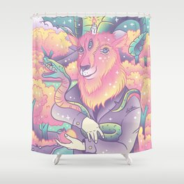 Live Deliciously! Shower Curtain