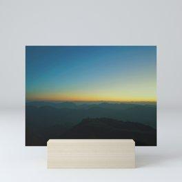 Peak of Keokradong Mini Art Print