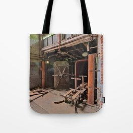 Abandoned Lonaconing Silk Mill Tote Bag