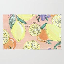 Love of Lemons. Rug