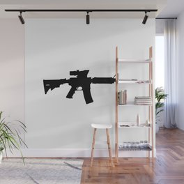 M4 Assault Rifle Wall Mural